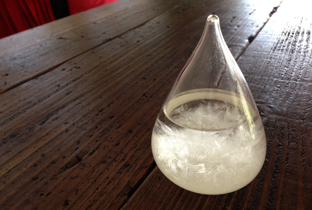 storm glasstempo drop / storm glass